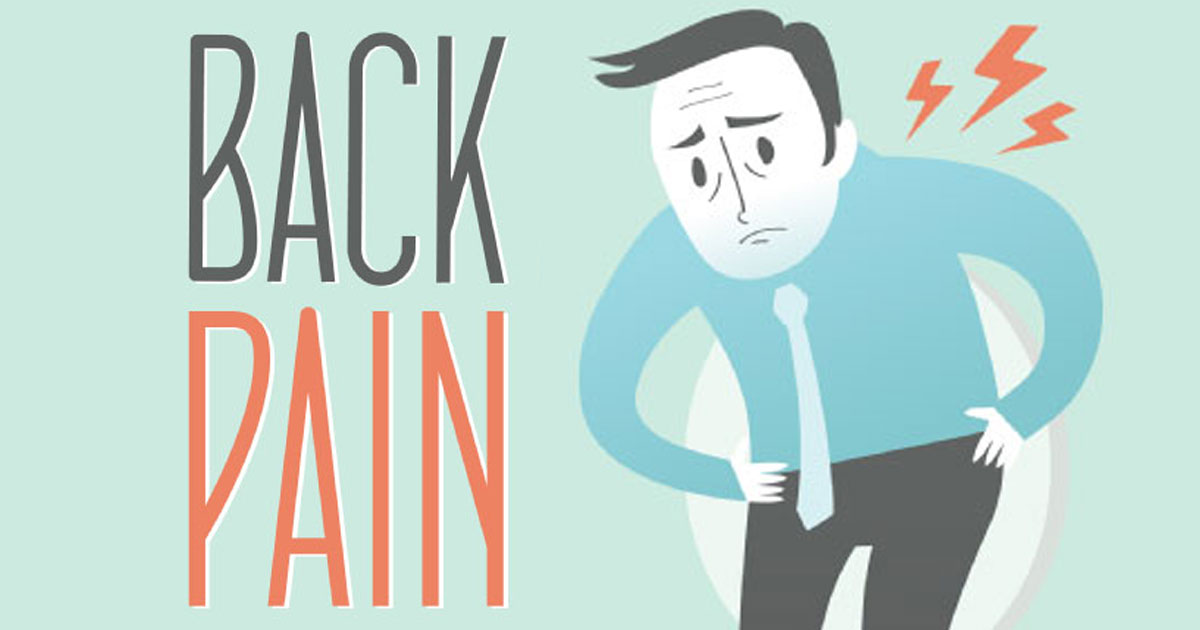Back Pain in Your Life: New Life Outlook  Infographic