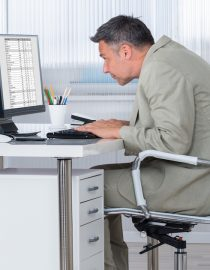 "How ""Hunched Over"" Posture Causes Back Pain and How to Fix It"
